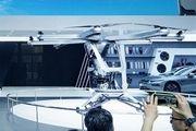 نمونه اولیه خودروی پرنده چینی در نمایشگاه اتومبیل پکن