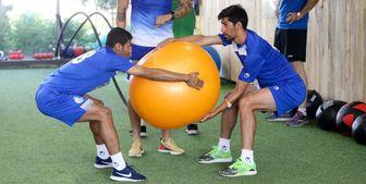 برگزاری تمرین استقلال در غیاب دو بازیکن