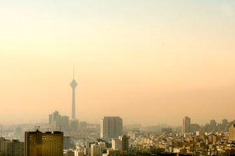 وضعیت آلودگی هوای تهران در مرحله «خطرناک»