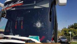 حمله هوادارن پرسپولیس به اتوبوس کاشیما؟ /فیلم