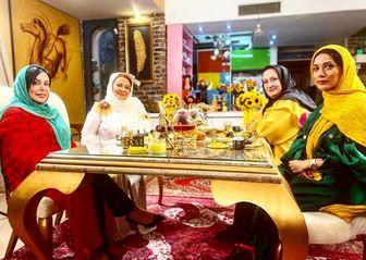 دعوای جنجالی مریم امیرجلالی و فلور نظری در «شام ایرانی»/ فیلم