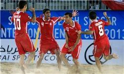 تیم ملی فوتبال ساحلی قهرمان شد