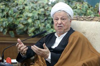 رفسنجانی: دولت تحریمها را خیلی خوب شکست
