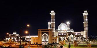 افتتاح بزرگترین مسجد تاجیکستان در انتظار امیر قطر