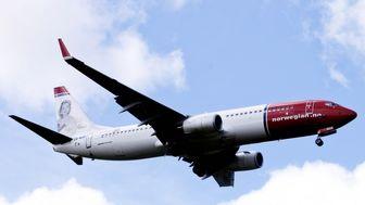 دلیل فرود اضطراری هواپیمای نروژی