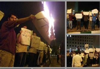 تجمع بامدادی دانشجویان مقابل مجلس
