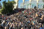 مردم رام الله خواستار لغو تحریمهای نوار غزه شدند