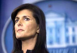 واکنش هیلی به وتوی طرح ضدایرانی شورای امنیت از سوی روسیه