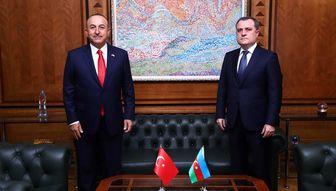 گفت و گوی وزیران خارجه ترکیه و آذربایجان