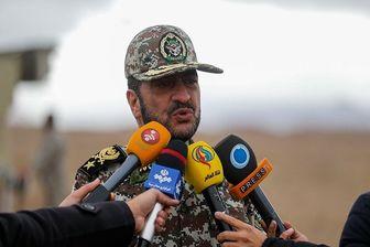 رجز خوانی فرمانده نظامی ایران برای دشمنان