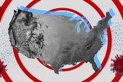آخرین آمار کرونا در آمریکا /1000 فوتی طی 24 ساعت گذشته