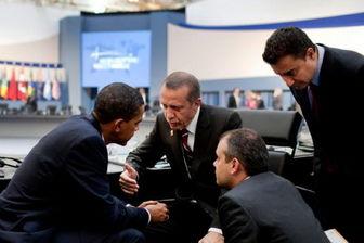 کنفرانس خبری اردوغان و اوباما