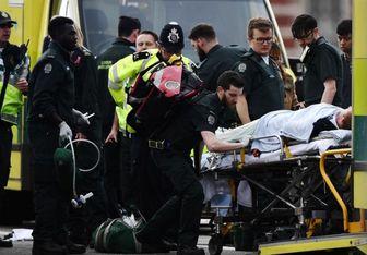 چهره فرد مهاجم حمله تروریستی لندن/عکس