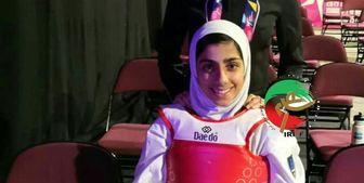دومین فینالیست تاریخ تکواندو بانوان ایران در مسابقات جهانی