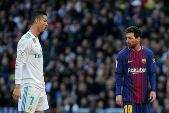 پایان جدال مثلث BBC رئال مادرید با MSN بارسلونا