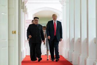 توییت تازه ترامپ درباره توقف رزمایش در شبه جزیره کره