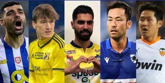 2 فوتبالیست ایرانی در بین لژیونرهای برتر هفته آسیا