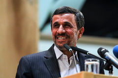 دیدار محمود احمدینژاد با رییسجمهور منتخب