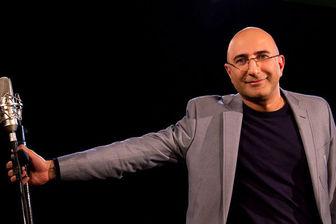 کویرگردی مجری مشهور تلویزیون/ عکس
