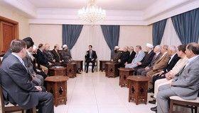 بحران سوریه از طریق طرفهای خارجی حل نمیشود