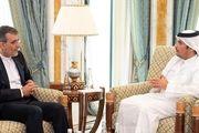 دیدار «جابری انصاری» با وزیر خارجه قطر