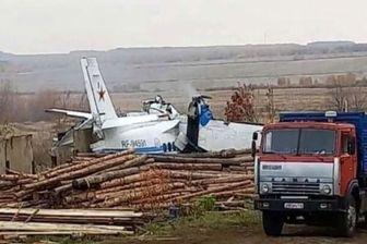 سقوط هواپیما در روسیه؛ ۱۶ سرنشین کشته شدند + فیلم