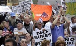 تظاهرات علیه توافق هستهای در نیویورک