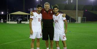 لژیونر ایرانی اردوی تیم ملی را ترک کرد+عکس