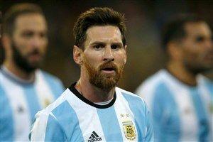مسی آرژانتین را به جام جهانی برد