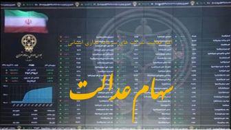 وضعیت روز شرکتهای بورسی سهام عدالت در 22 شهریور 99