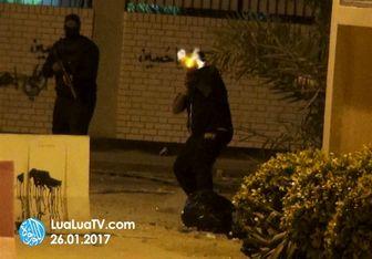 حمله مزدوران رژیم آل خلیفه به الدراز