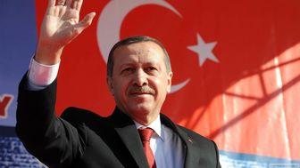 اردوغان در حال بازی بسکتبال با وزرایش+ فیلم