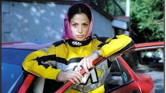 Documentary on Iranian female rally driver