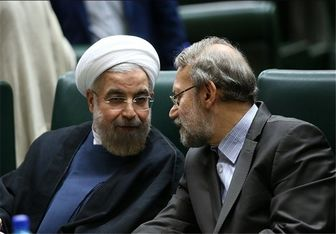 """توافق """"لاریجانی"""" و """"روحانی"""" بر ارائه لایحهای برای تفکیک چند وزارتخانه"""