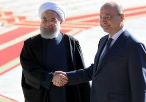 پیام توئیتری رئیسجمهور عراق پس از سفر به ایران