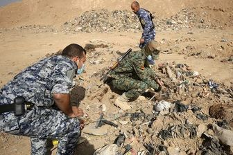 کشف گور جمعی در عراق/ نشانه ای دیگر از جنایت داعشی ها