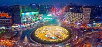 رونمایی از دیوارنگاره میدان ولیعصر(عج)
