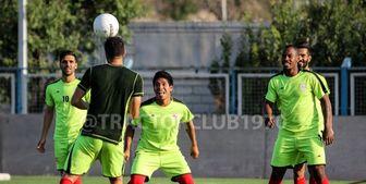 حاج صفی به تمرینات تراکتور بازگشت
