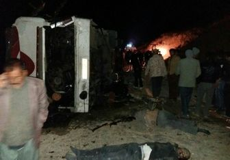 آمار جانباختگان حادثه اقلید ۲۹ نفر شد