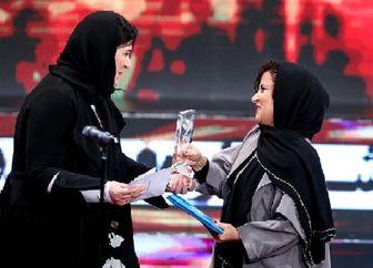 وقتی «ریما رامینفر»، بازیگر برنده سیمرغ را در آغوش کشید/ عکس