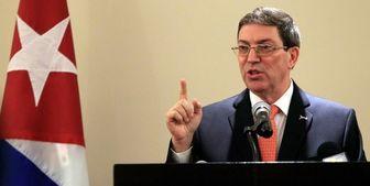 کوبا تحریم های جدید آمریکا علیه ایران را محکوم کرد