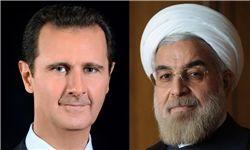 بشار اسد حملات تروریستی تهران را محکوم کرد