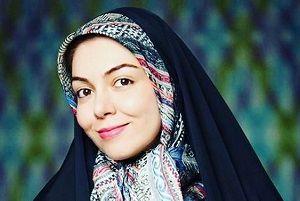 تیپ مجری زن پرحاشیه در جشن تولد همسرش/عکس