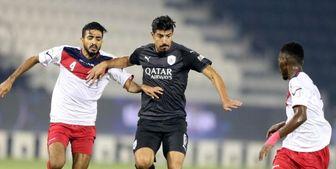 منتظری و خلیل زاده در ترکیب اصلی تیم هایشان در لیگ ستارگان قطر
