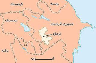 توافق آتشبس در منطقه قرهباغ