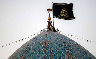 حرم شاهچراغ (ع) سیاهپوش شد/ تصاویر