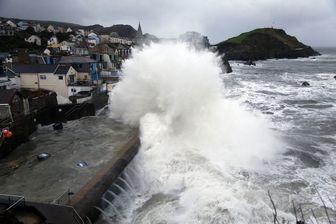 طوفان بریان انگلیس را درنوردید/عکس