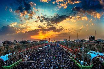 تصویر هوایی زیبا از بین الحرمین