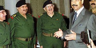 به هلاکت رسیدن وزیر جنگ صدام