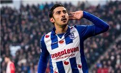 سلفی قوچان نژاد با ستاره محبوب تاریخ فوتبال